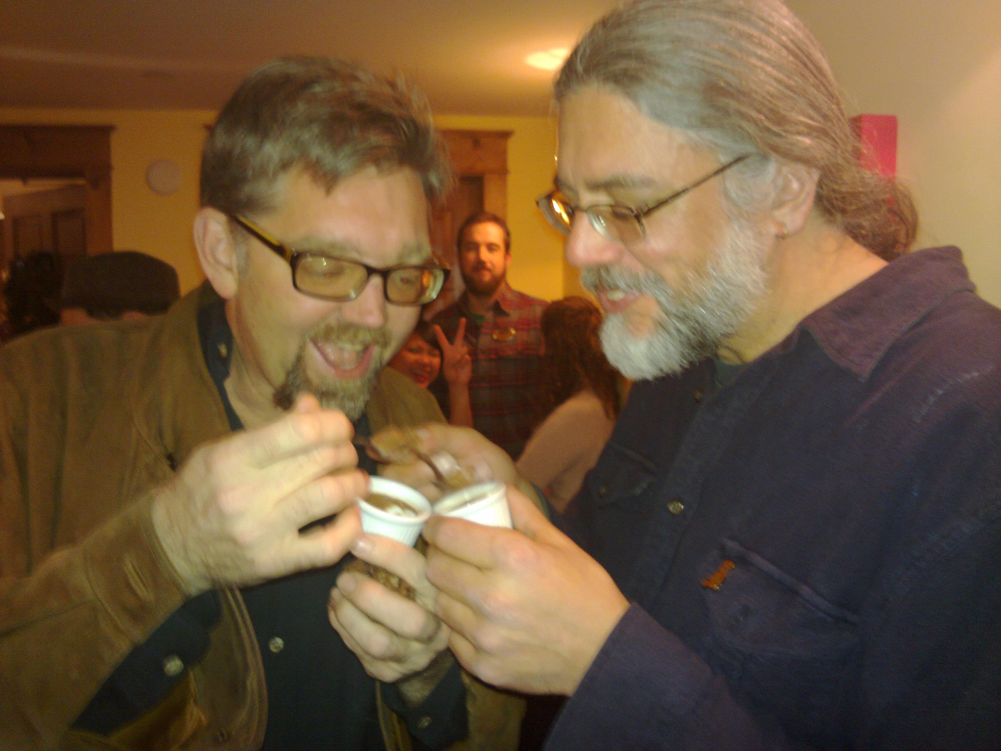 Dave Leonard and Rick Schneider