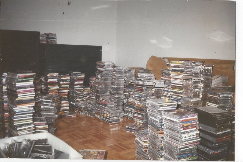 lots and lots of cd\'s