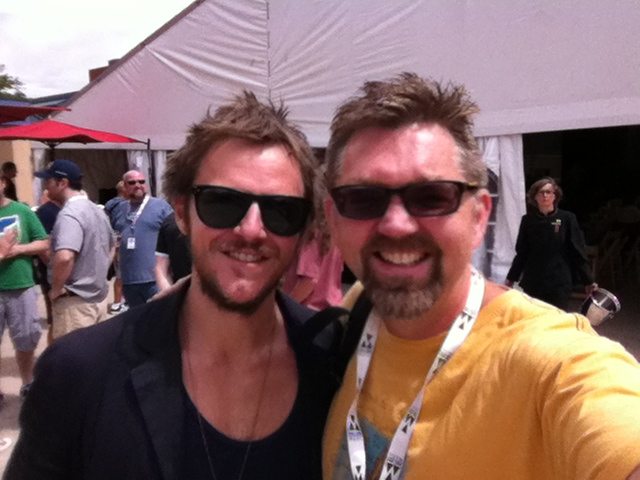Charlie Mars and Dave
