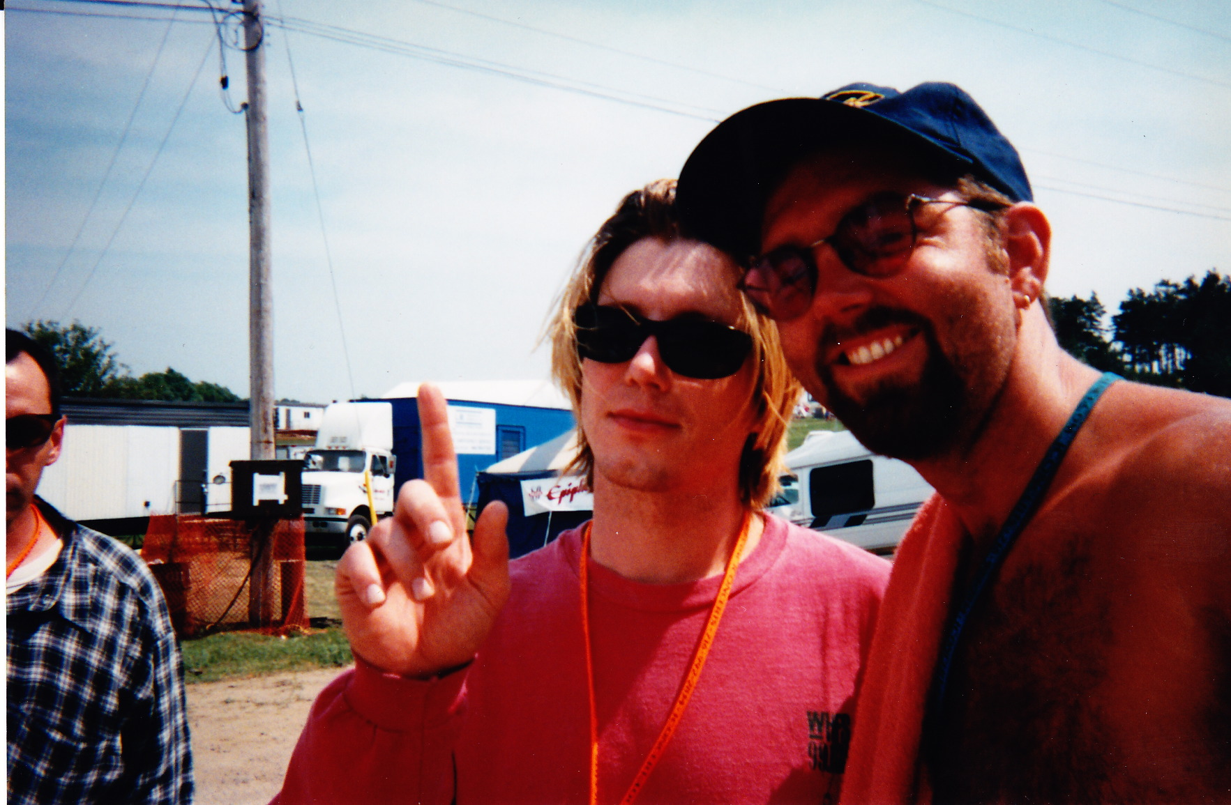 Johnny Reznik from Goo Goo Dolls and Dave
