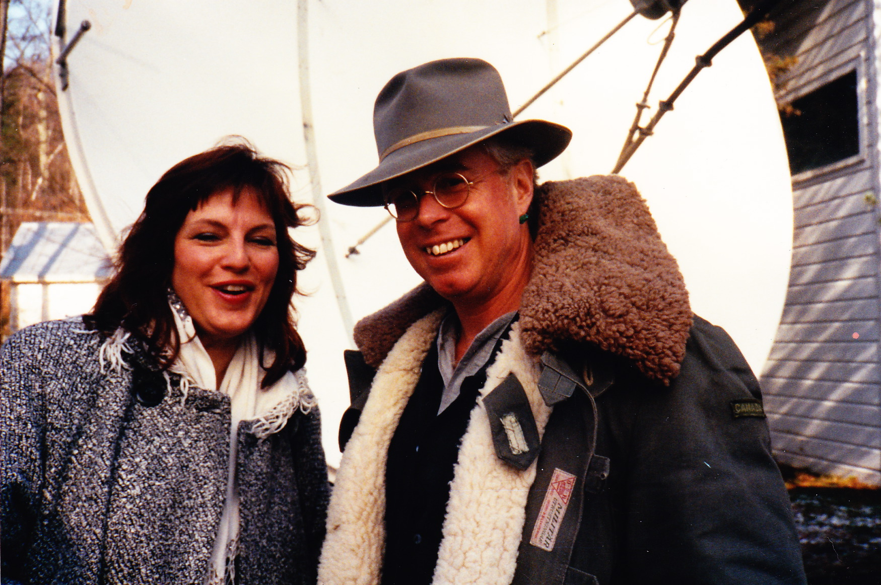 Jeanne Atwood and Bruce Cockburn