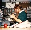 Dave in original WDST studio